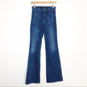 Mother The Drama High Waist Wide Leg Flare Jeans